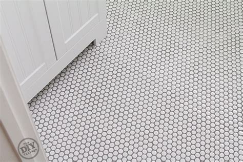 How to install penny tile the diy village