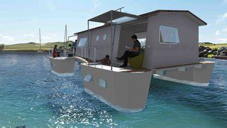 floatwing modular floating house by portugal s friday 6 modular houseboat and floating home manufacturers around
