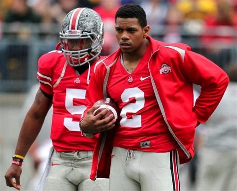 braxton miller tattoos terrelle pryor brought promise but braxton miller