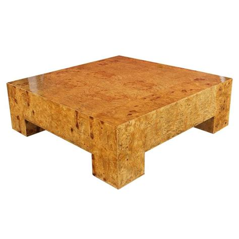 burl wood coffee tables vintage burl wood coffee table by milo baughman at 1stdibs