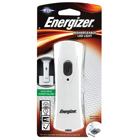 energizer rechargeable led torch bunnings warehouse