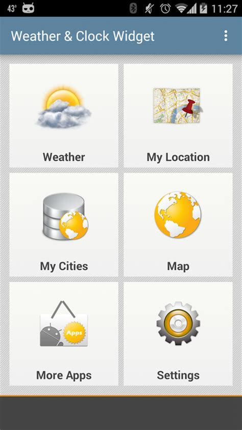 weather and clock widgets for android weather clock widget android apk free weather android app appraw