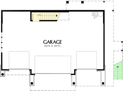 master bedroom over garage plans one bedroom suite over four car garage 69394am 2nd