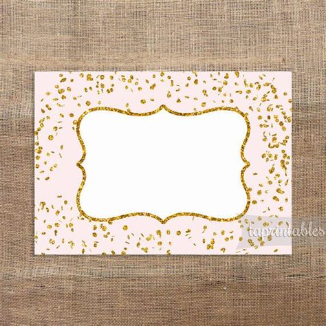 printable gold label 1000 images about baby shower on pinterest hot