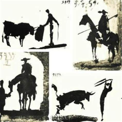 picasso paintings bullfight pablo picasso paintings museum barcelona