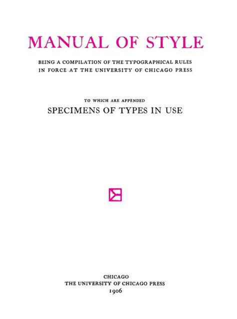 the chicago manual of style 16th edition university of the chicago manual of style