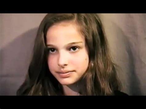 Natalie Portman Because Shes Natalie Portman by Eleven Year Natalie Portman S The