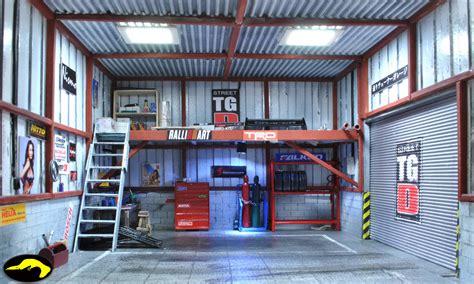 garage st bowerbird garage tuner garage diorama ehra ii