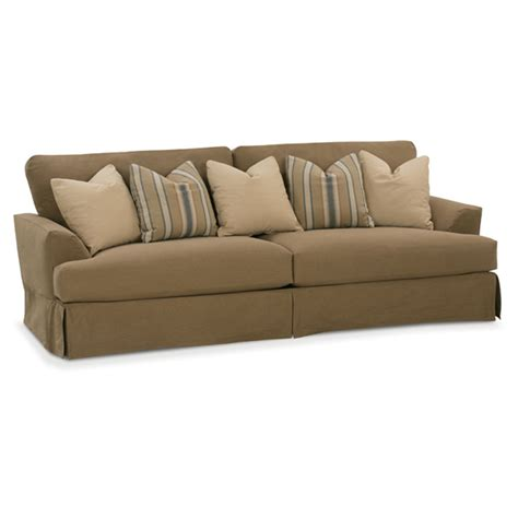 slipcovered sectionals furniture rowe n680 003 rowe slipcovered sofa ellington slipcover