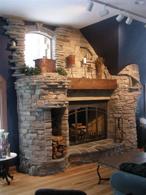 stone fireplaces ideas stone fireplace designs for bedroom unique hardscape design