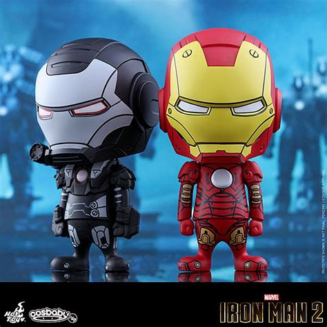 Toys Cosbaby Iron I Metallic Colour Version Bobble toys iron iii war machine comic color version cosbaby bobble collectible set
