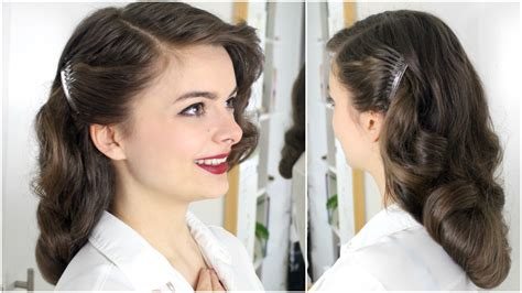Hairstyles 40s by 40s Brush Out On Hair Loepsie