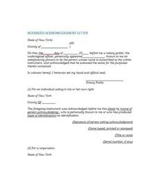 template for notarized letter 30 professional notarized letter templates template lab