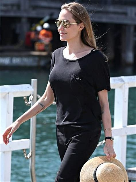 angelina jolie new tattoo persian angelina jolie reveals mysterious new arabic tattoo on her