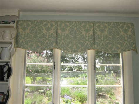 Box Pleat Valance Tailored Valance Shaped Box Pleats Custom Window