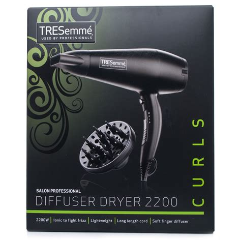 Babyliss Hair Dryer W Diffuser babyliss tresemme womens salon professional diffuser hair dryer 2200 5543u ebay