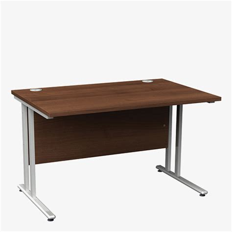 shallow desk london office furniture warehousemaestro 25sl range