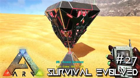 ark scorched earth spawn loot crates desert