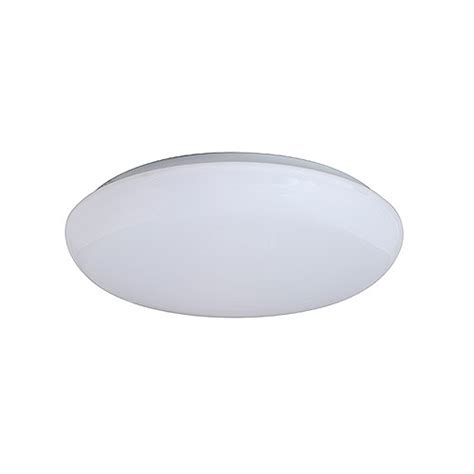 led 14 quot white cloud ceiling surface light flush