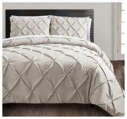 Carmen 3 piece duvet cover set taupe contemporary duvet covers