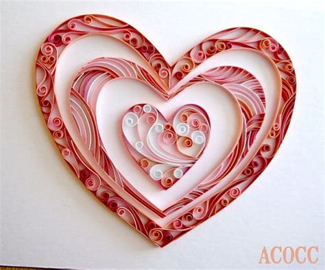 heart quilling pattern pinterest the world s catalog of ideas