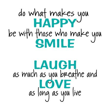 do what makes you happy whimsical wall quotes™ decal