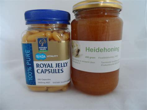 Royal Jelly 100 Gram stuifmeel pollen en koninginnegelei royal jelly