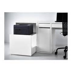 printer storage ideas galant storage pull out unit for printer white ikea 17