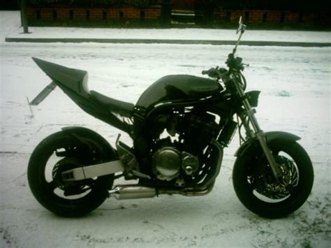 my bike in the snow mcn