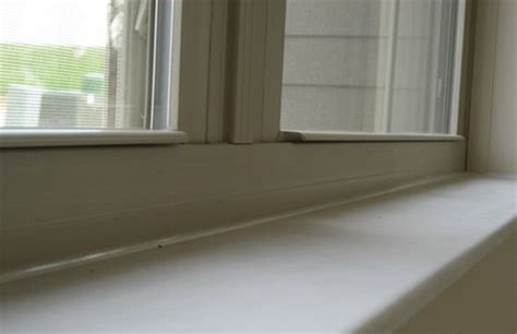 Cedar Window Sill How To Replace A Wooden Window Sill