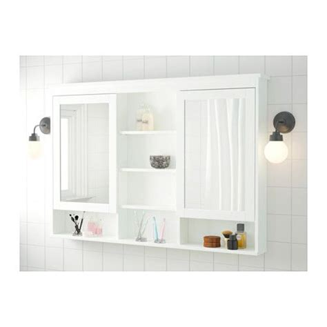 Bathroom Mirror Cabinets Ikea Hemnes Mirror Cabinet With 2 Doors White Mirror Cabinets Doors And Hemnes