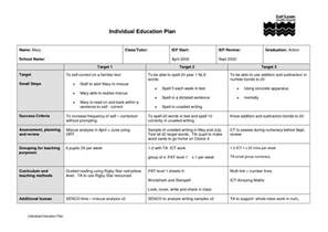 Education Plan Template by Education Plan Gallery