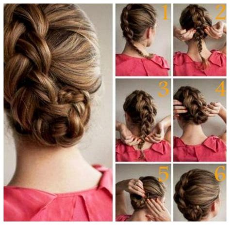 step by step hair style hair style for girls party step by step 9 hairzstyle