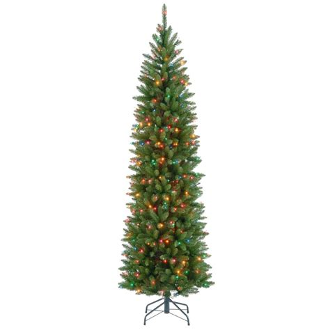 Small Ceiling Fans For Kitchen - national tree company 7 ft kingswood fir pencil artificial christmas tree with multicolor