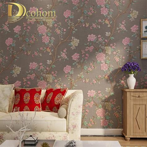 bird wallpaper home decor vintage wallpaper home decor wallpaper home