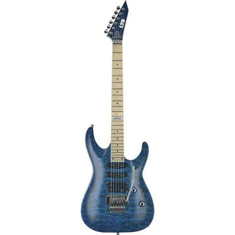 Fpp063 Esp For U Blue esp ltd mh 103qm electric guitar see thru blue