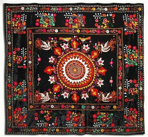 uzbek suzani table runner one kings lane 164 best images about suzani on pinterest hand