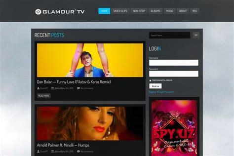 uzbek kinotv website wordpress theme universe themes and websites built with