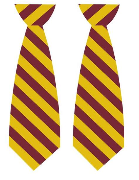 harry potter tie template harry potter tie printables zurchers