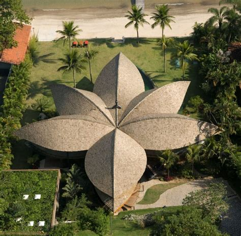 leaf house leaf house brazilian flower from mareines patalano arquitetura