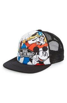 Topi Baseball Rebel Eight X Vans Trucker Snapback Reove Store grumpy baseball cap for adults hats gloves scarves disney store grumpy dopey