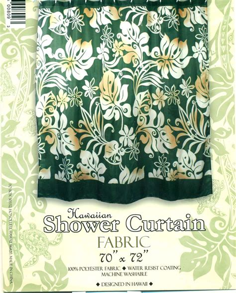 hawaiian shower curtains hawaiian tropical fabric shower curtain hibiscuss flower
