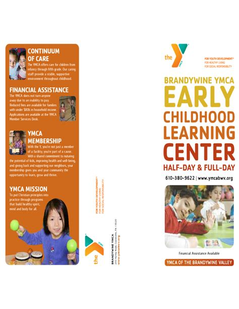 Basic Brochure Template basic preschool brochure template free