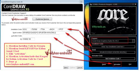 corel draw x6 activation code crack coreldraw graphics suite x6 serial number and activation