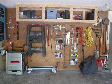 ideas diy garage wall shelves with wooden board different types for diy garage shelves garage