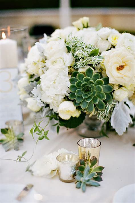centerpieces with succulents succulent inspired trends