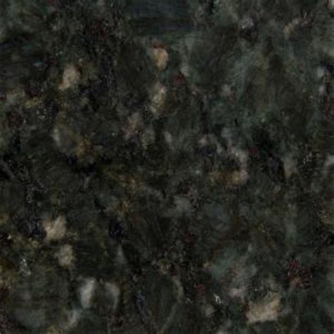 Stonemark Granite 3 in. Granite Countertop Sample in Verde