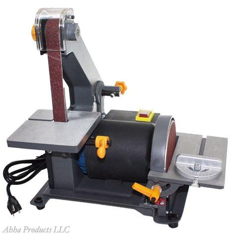 bench belt sanders heavy duty 1 quot sander belt 5 quot disc grinder table top