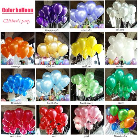 Balloon Decorations Prices by Price Comparisons 100pcs Lot Air Balloon 10inch