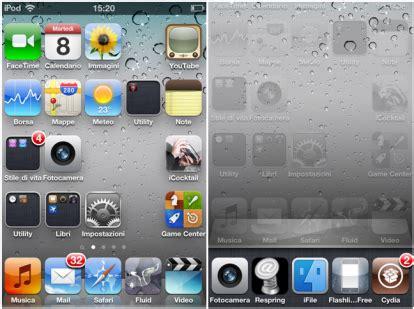 modificare layout iphone springboard enhancer un nuovo tweak per applicare delle